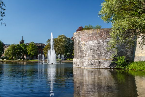 Medieval fortifictions in Maastricht, Netherlands